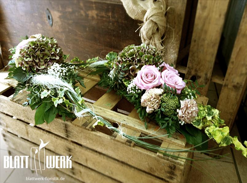 Blattwerk floristik blumen und dekoration berlingerode for Tischdekoration hochzeit blumen