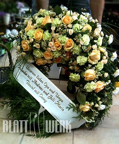Sprüche Auf Trauerschleifen | Blattwerk Floristik Blumen Und Dekoration Berlingerode Eichsfeld